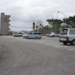 新開地近くの公共駐車場(無料)